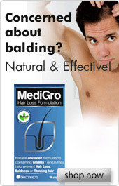 MediGro - Concerned about balding?