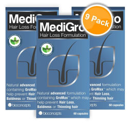Medigro Hair Loss Treatment Nine Pack