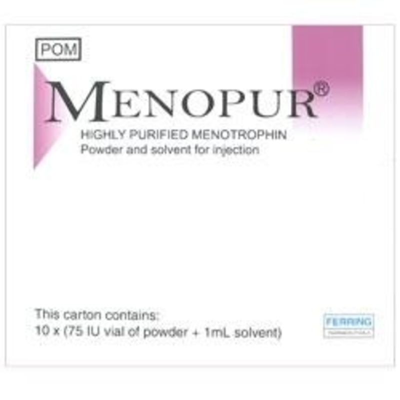 Menopur 75IU | Prescription Product | Chemist Direct