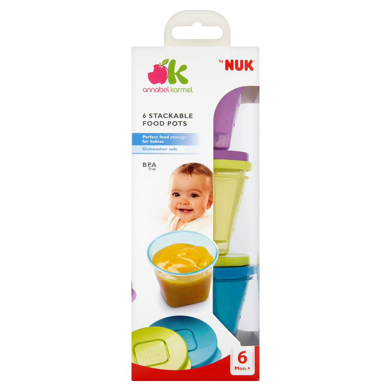 NUK Annabel Karmel Stackable Pots