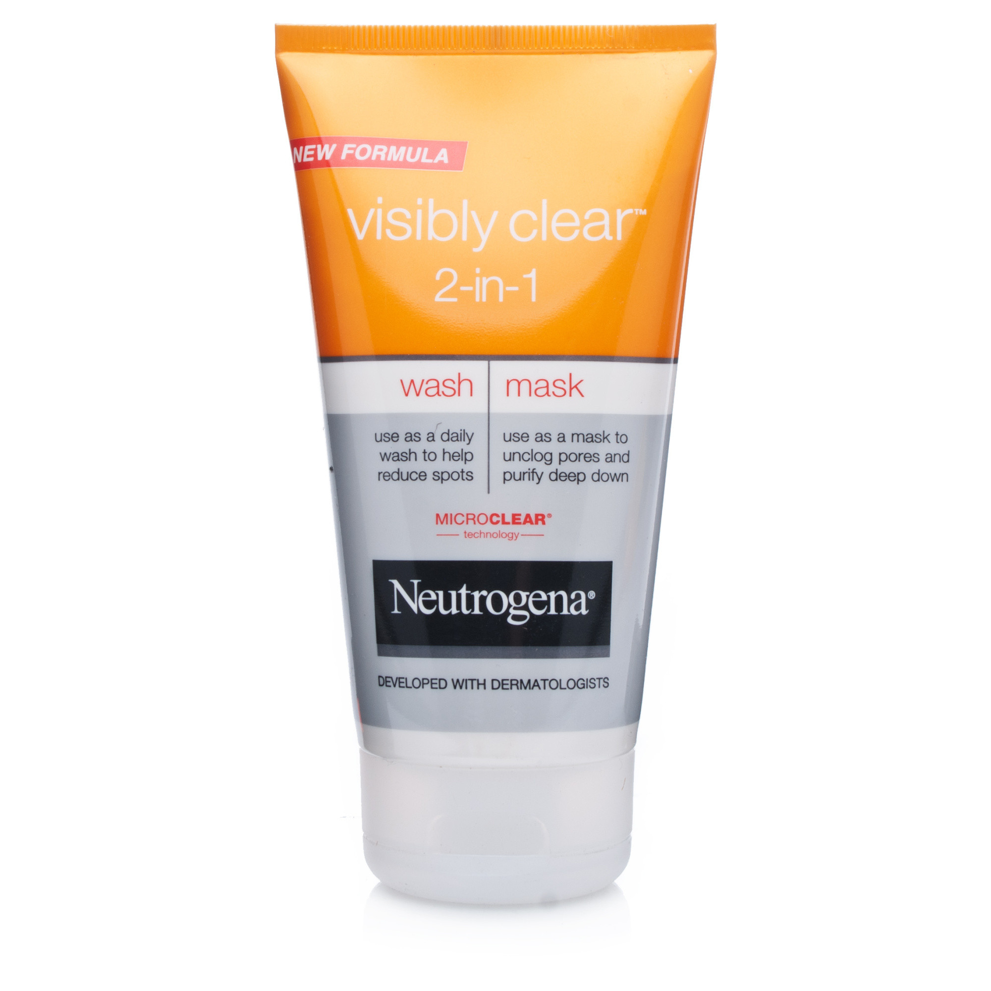 Neutrogena Visibly Clear 2 in 1 Wash & Mask