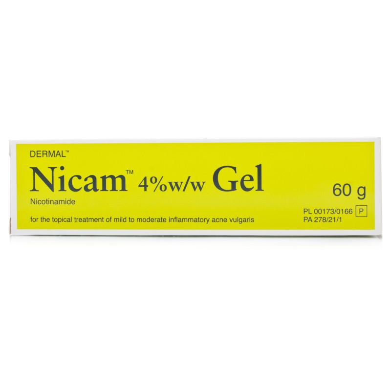 Dermal Nicam Gel 60g For Acne Treatment