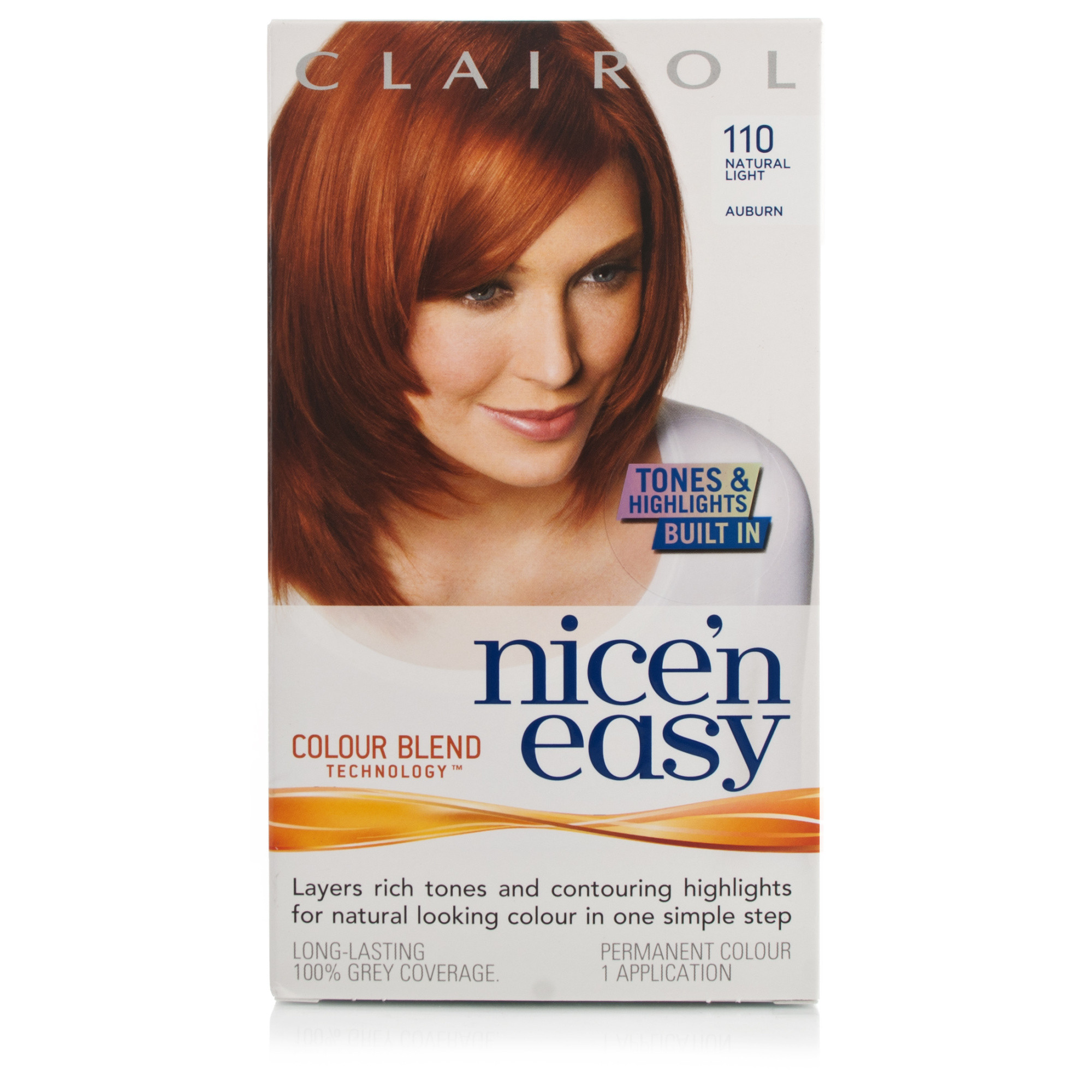 Light Shop Near Auburn: Nice'n Easy Hair Colour Light Auburn 110