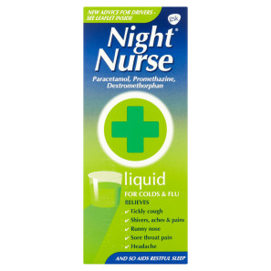 Night Nurse Liquid 160ml | Chemist Direct