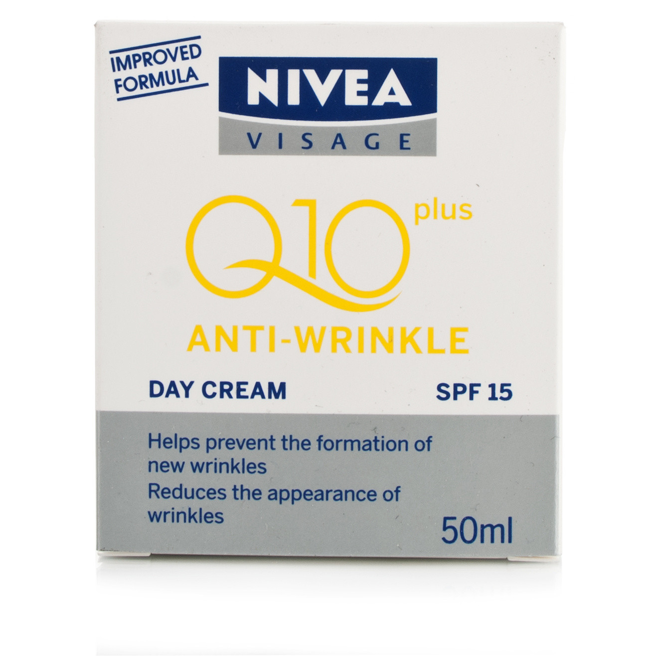 nivea visage q10 plus anti wrinkle day cream. Black Bedroom Furniture Sets. Home Design Ideas