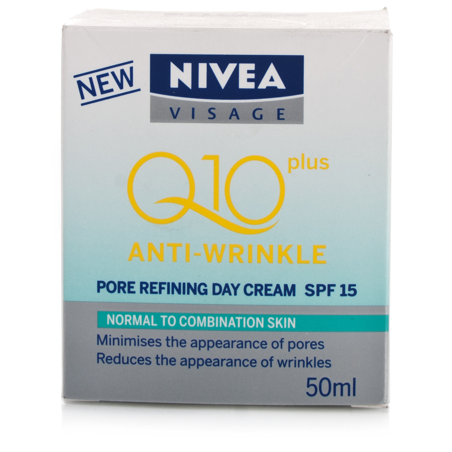 Nivea Visage Q10 Plus Anti-Wrinkle Pore Refining Day Cream SPF15