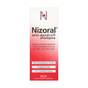 Buy Nizoral Anti Dandruff Shampoo 60ml Chemist Direct