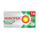 Nurofen Express Ibuprofen 256mg Caplets