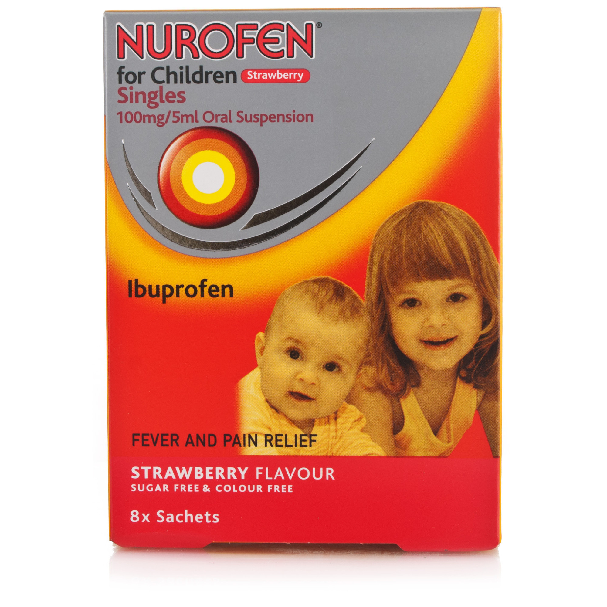 Nurofen For Children - Strawberry