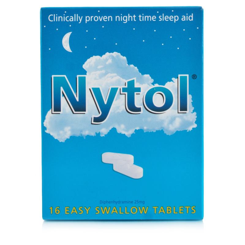 Nytol Easy Swallow Caplets 25mg | Chemist Direct