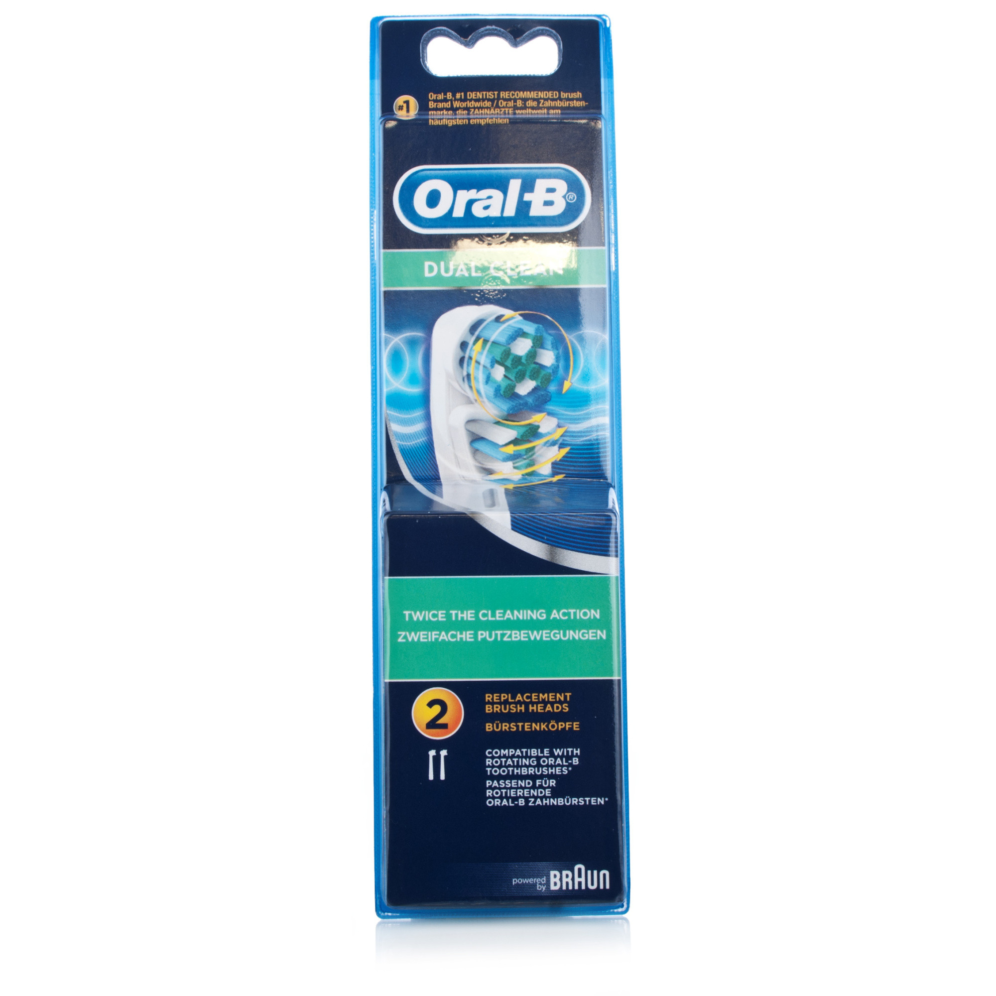 Oral-B Dual Clean Brush Heads