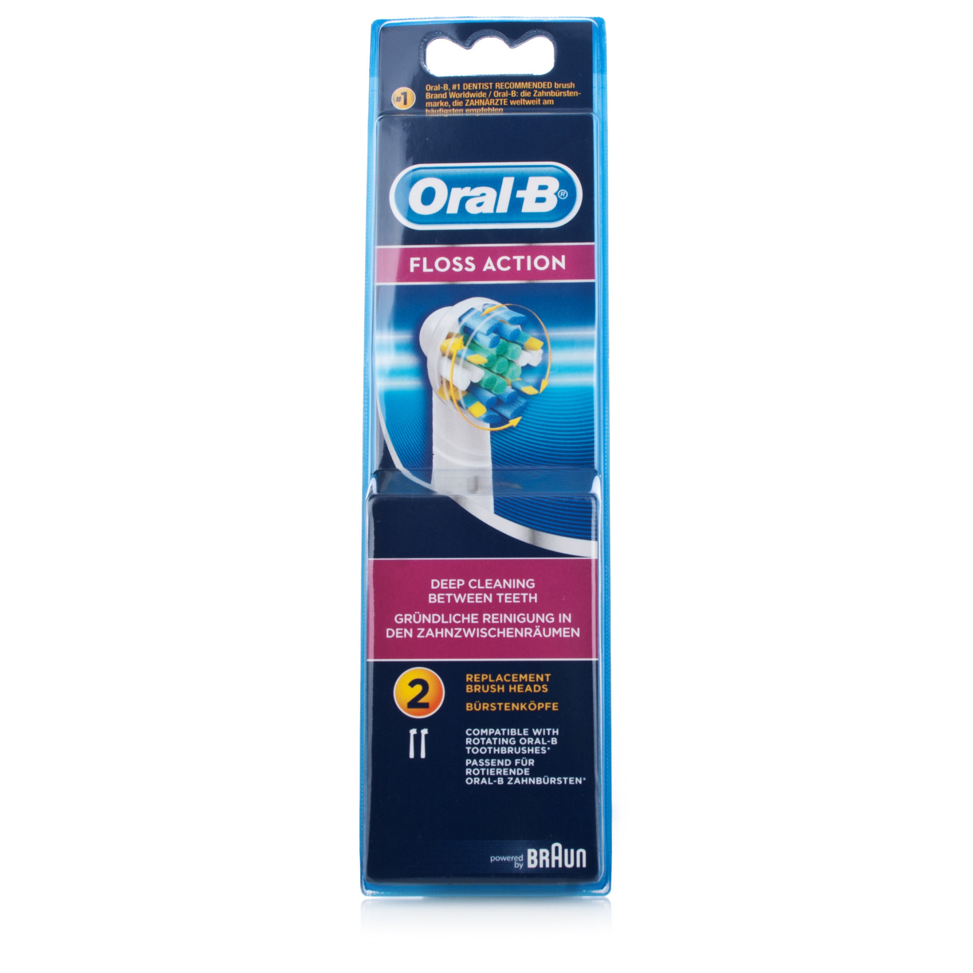 Oral B Floss Action Brush Heads 34