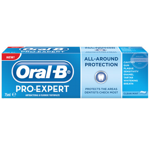 Oral-B Pro Expert All Around Protection Clean Mint Toothpaste