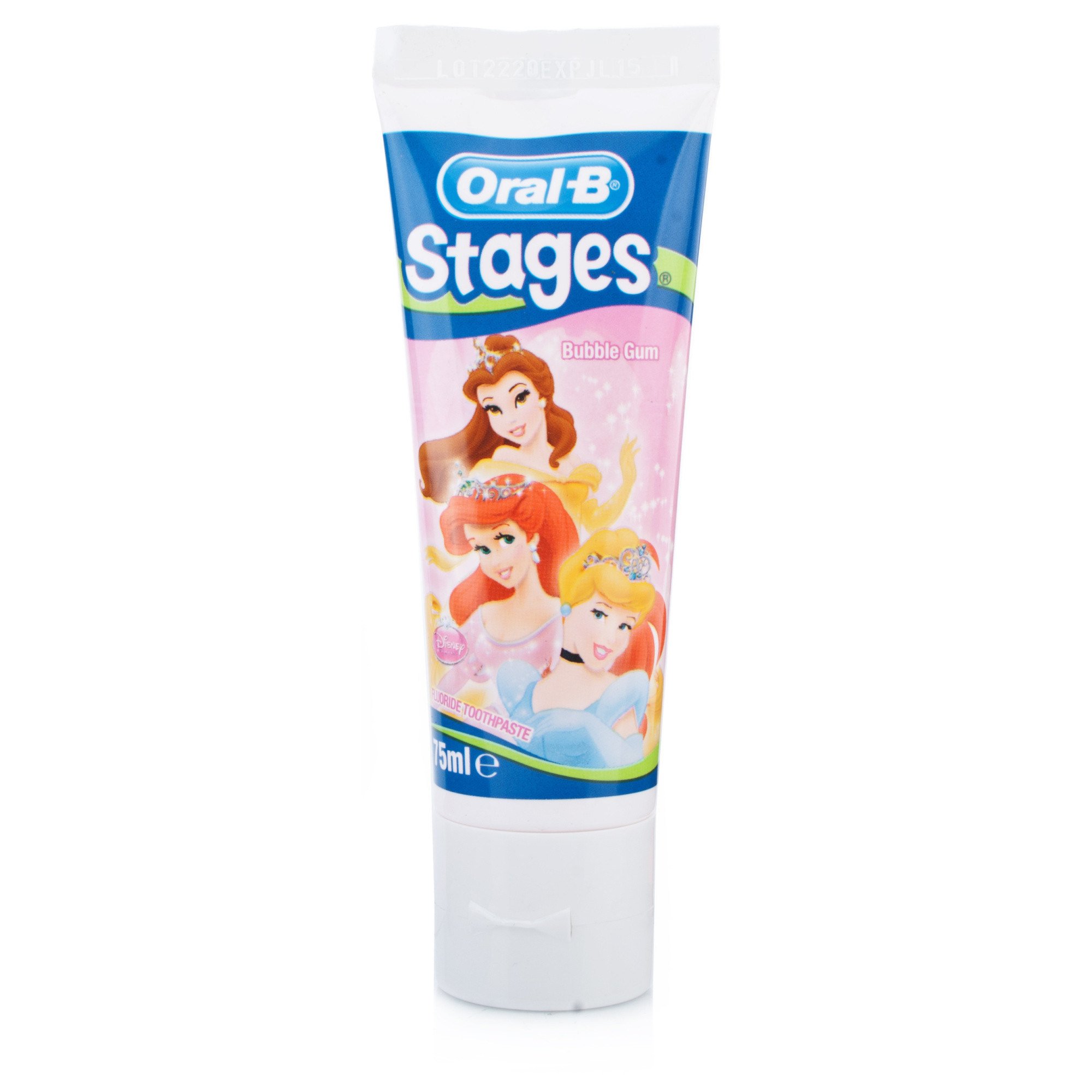 Oral-B Stages 3 Disney Princess Toothpaste 5-7 years