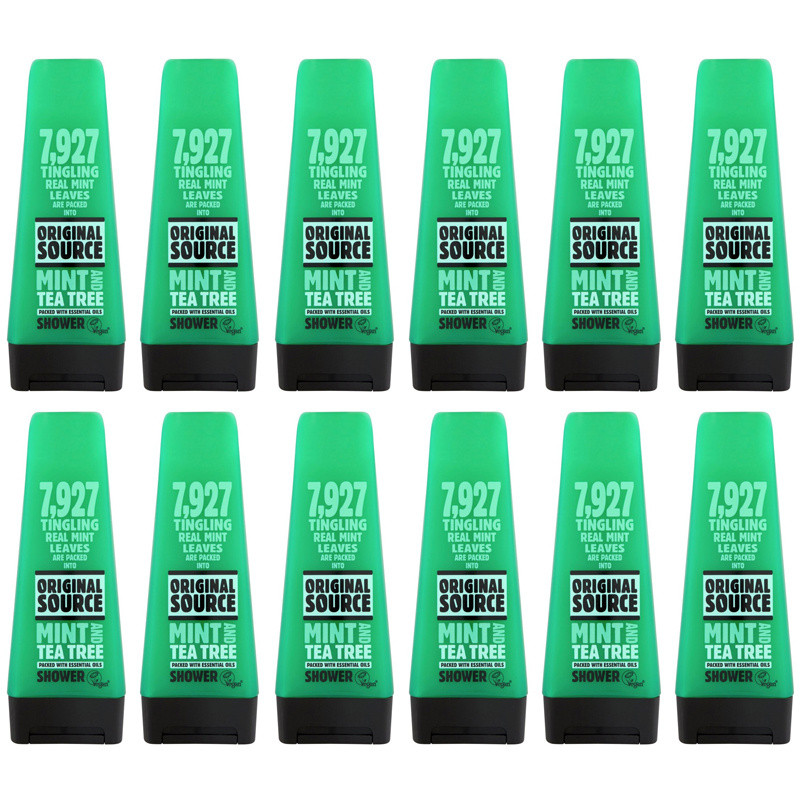 Original Source Mint And Tea Tree Shower Gel 12 Pack