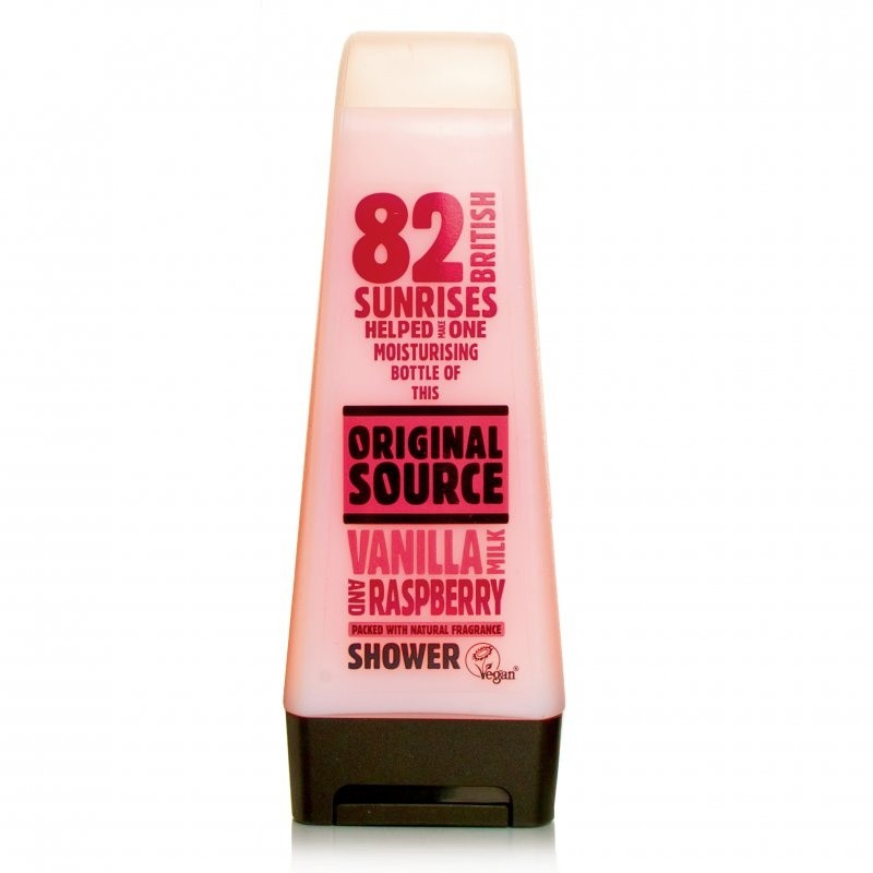 Original Source Vanilla Milk & Raspberry Shower Gel