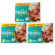 Pampers Baby Dry Extra Large Nappies Jumbo Triple Pack 62 X 3