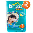 Pampers Economy Baby Dry Midi 60's Twin Pack
