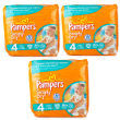 Pampers Simply Dry Maxi 4 Nappies Triple Pack
