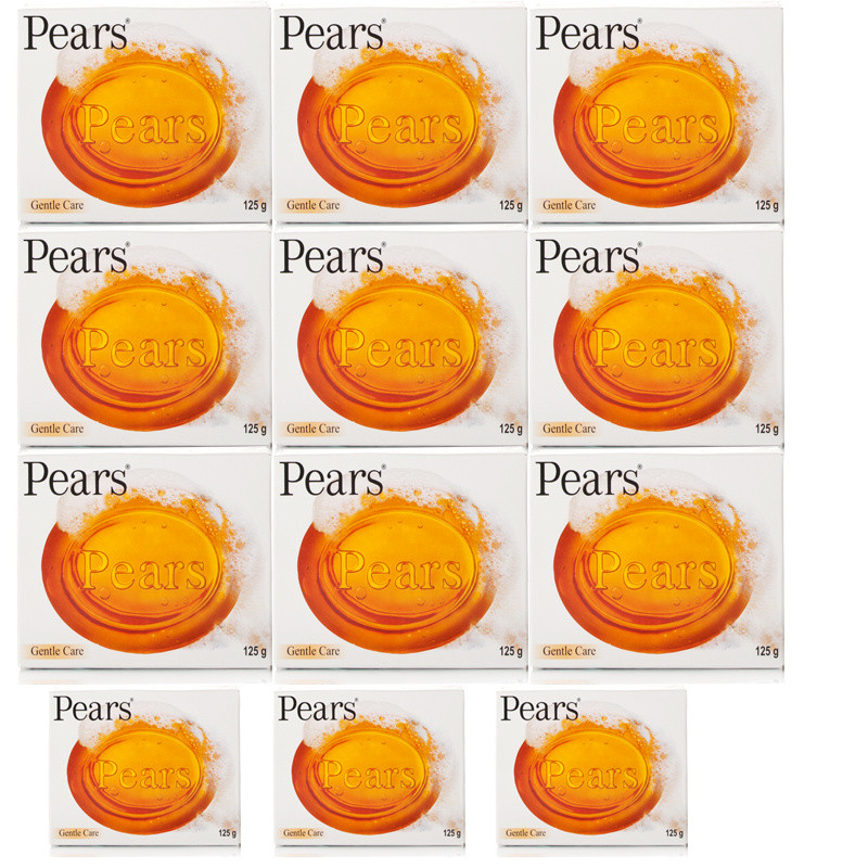 Pears Transparent Soap 12 Pack