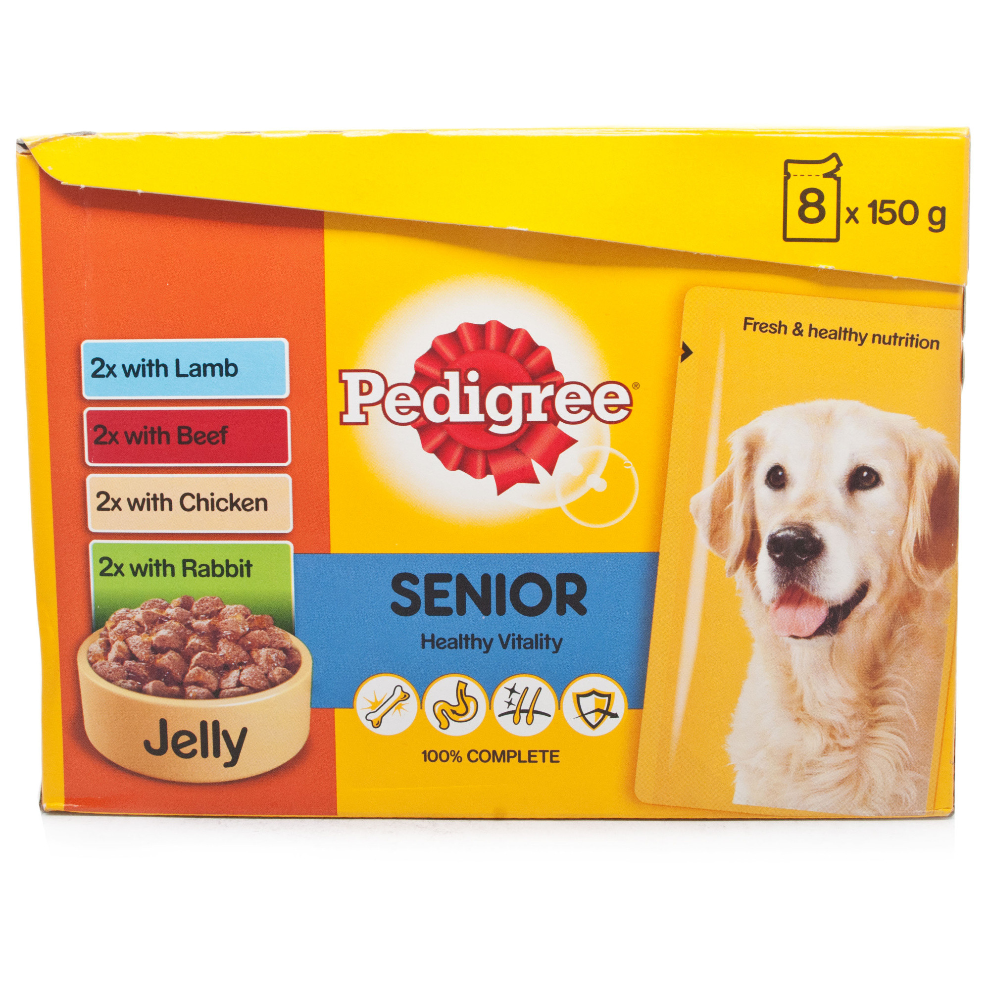 Pedigree Pouch Senior Jelly 8 Pack
