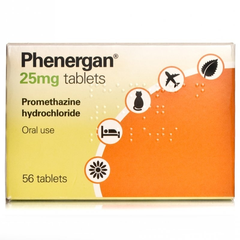 Buy Phenergan 25mg Tablets online | Chemist Direct
