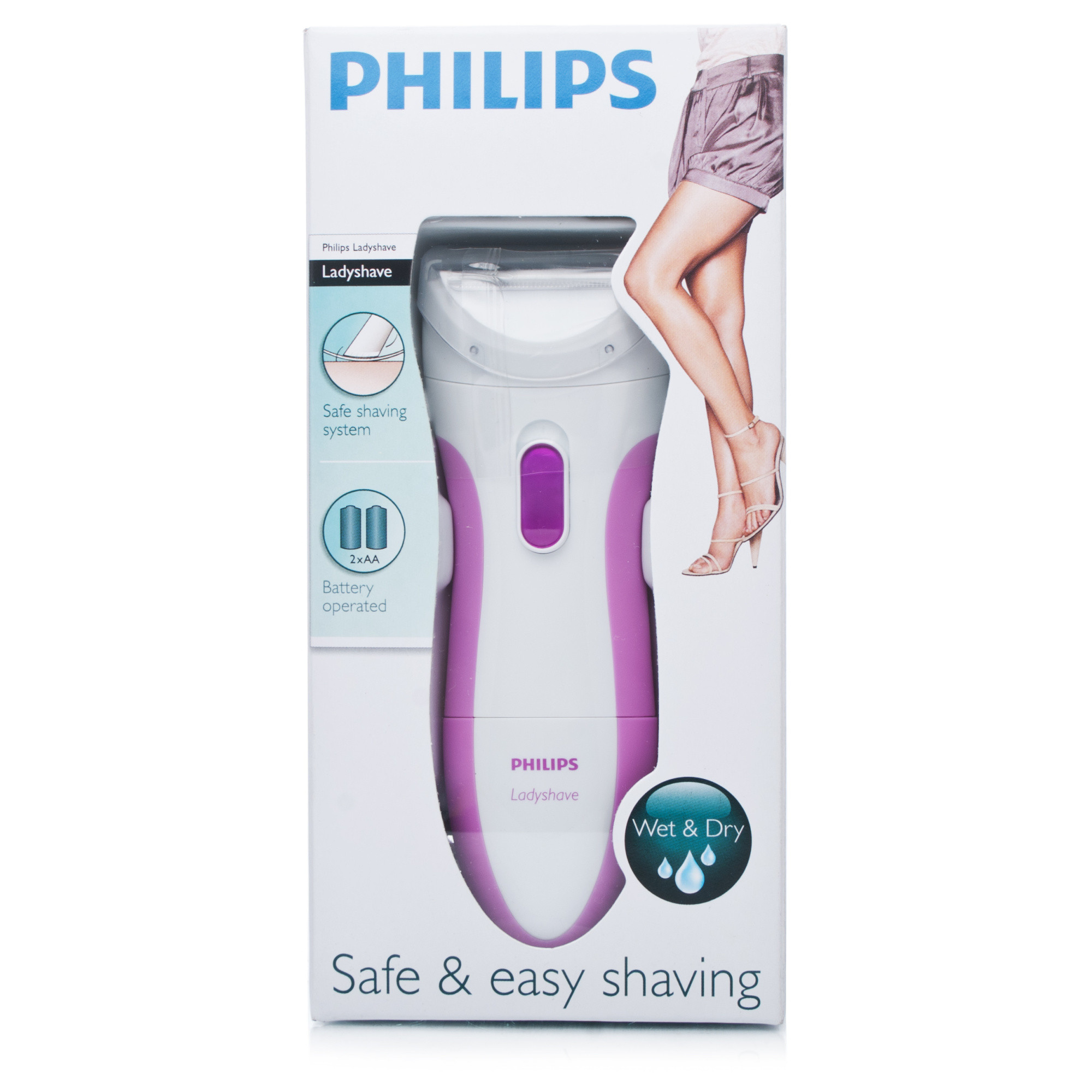 Philips HP6341 Ladyshave Wet and Dry