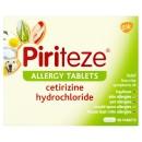 Piriteze Antihistamine Allergy Relief Tablets Cetrizine