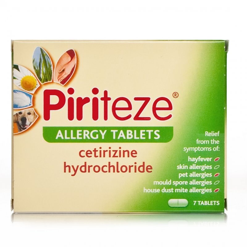 Piriteze One A Day Allergy Tablets