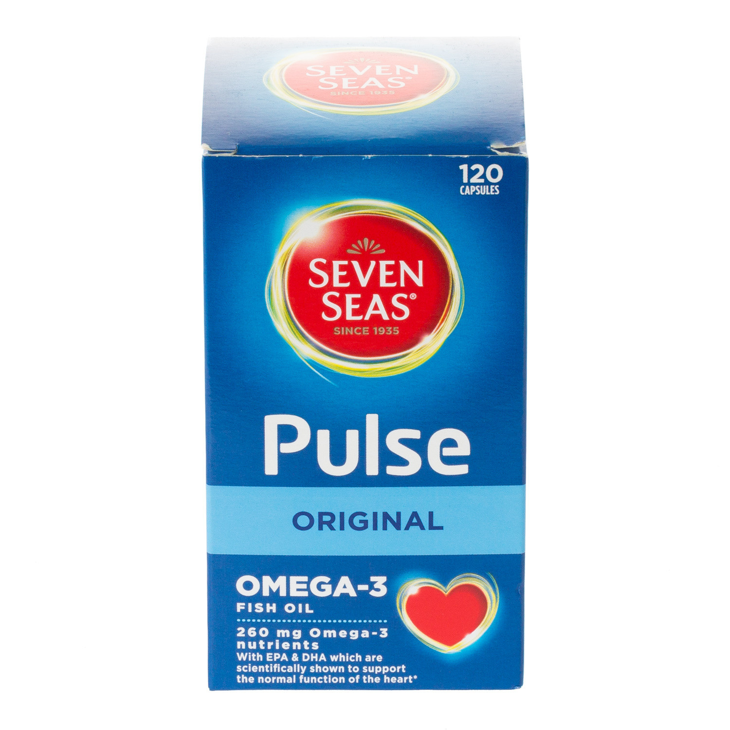 Pulse Omega3 Pure Fish Oils Capsules