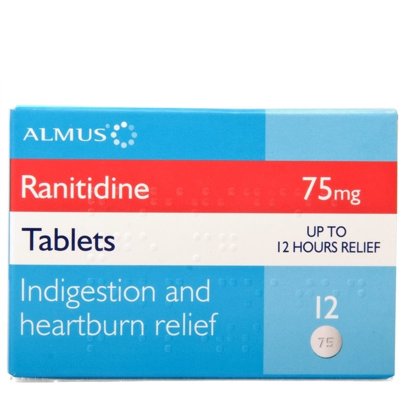 Ranitidine 75mg Tablets (Zantac Alternative)
