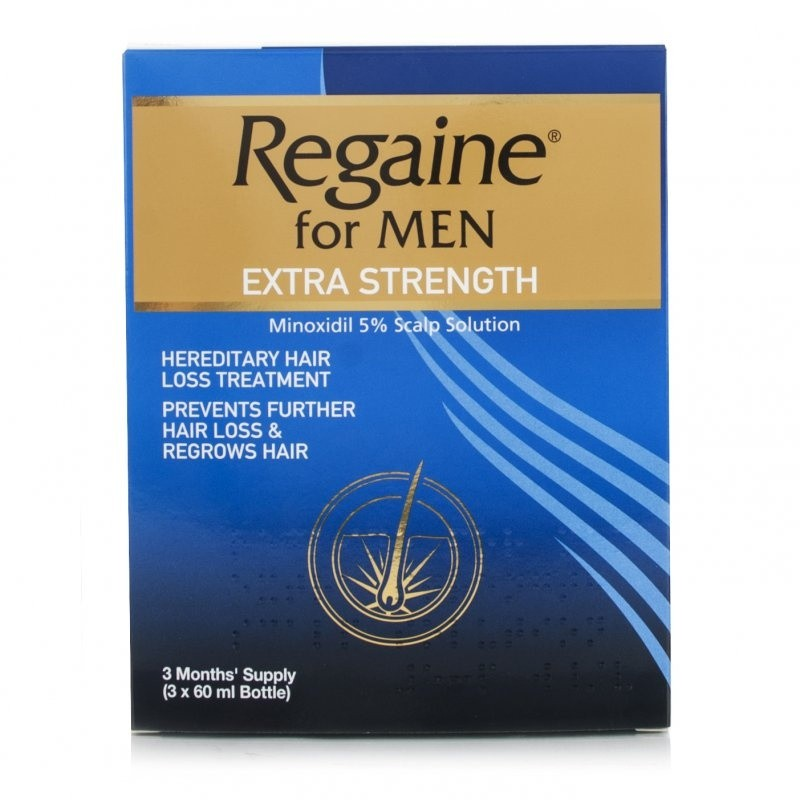 Regaine Extra Strength For Men - 3 Months Supply