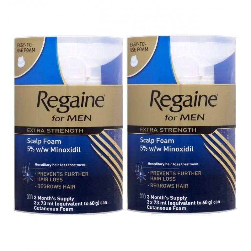 Regaine Foam Results Regaine Foam For Men 6 Month