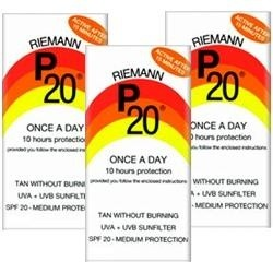 Riemann P20 Once A Day Sun Filter SPF20 3 Pack