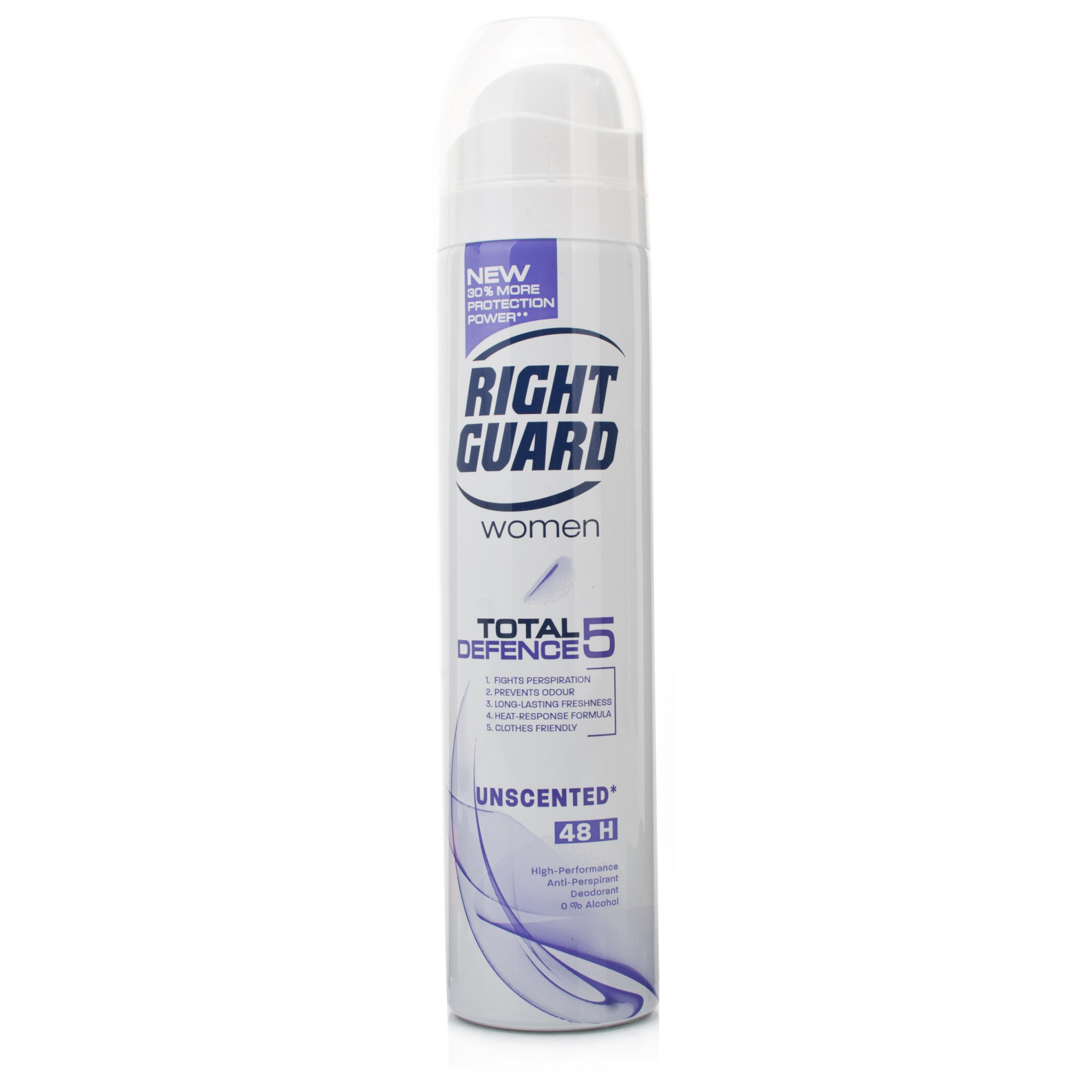 Right Guard Women Total Defence 5 Unscented Anti-Perspirant Deodorant