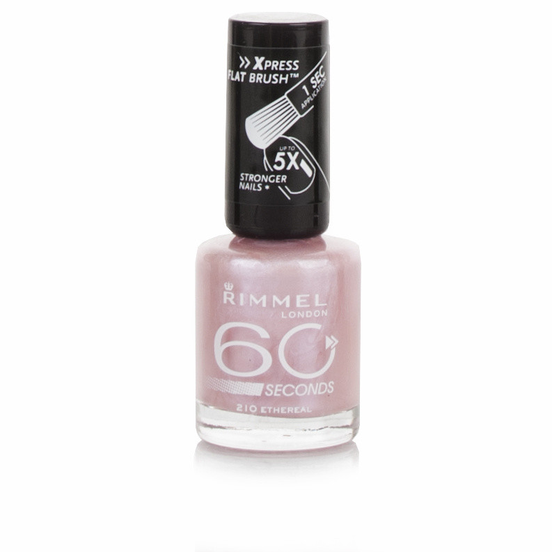 Rimmel 60 Seconds Vinyl Shine Nail Polish - Ethereal