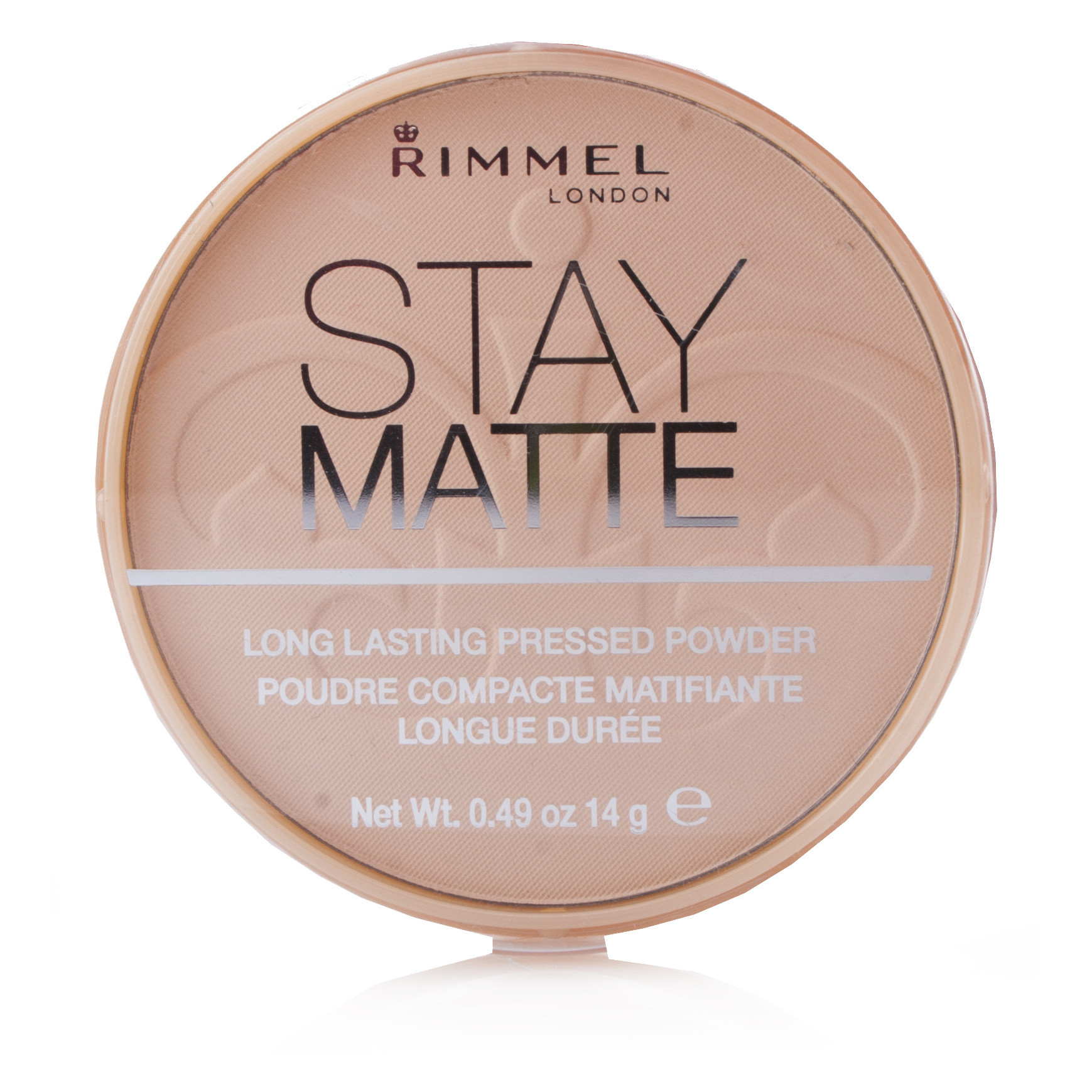Rimmel Stay Matte Pressed Powder (001) Transparent