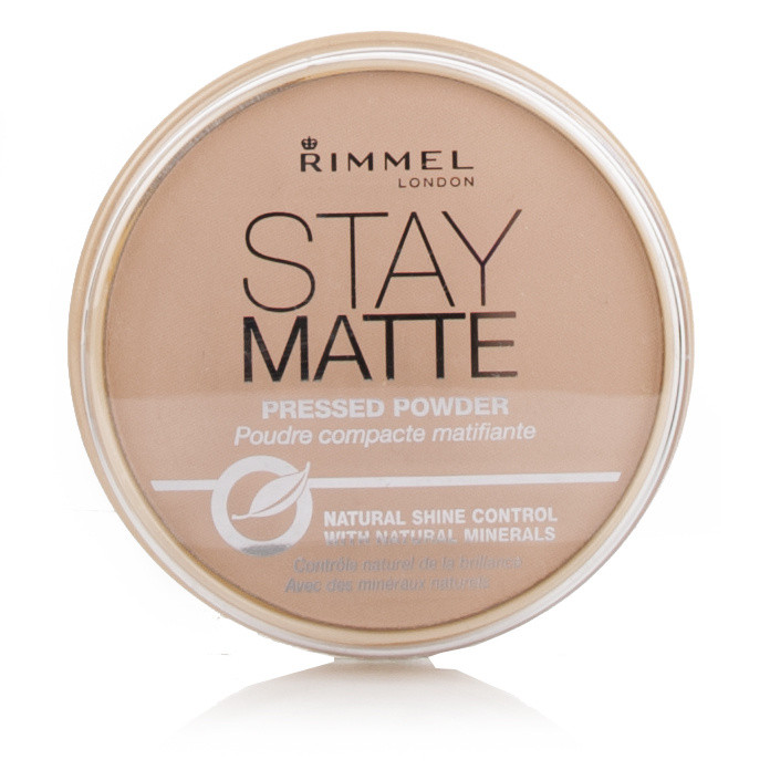Rimmel Stay Matte Pressed Powder (005) Silky Beige