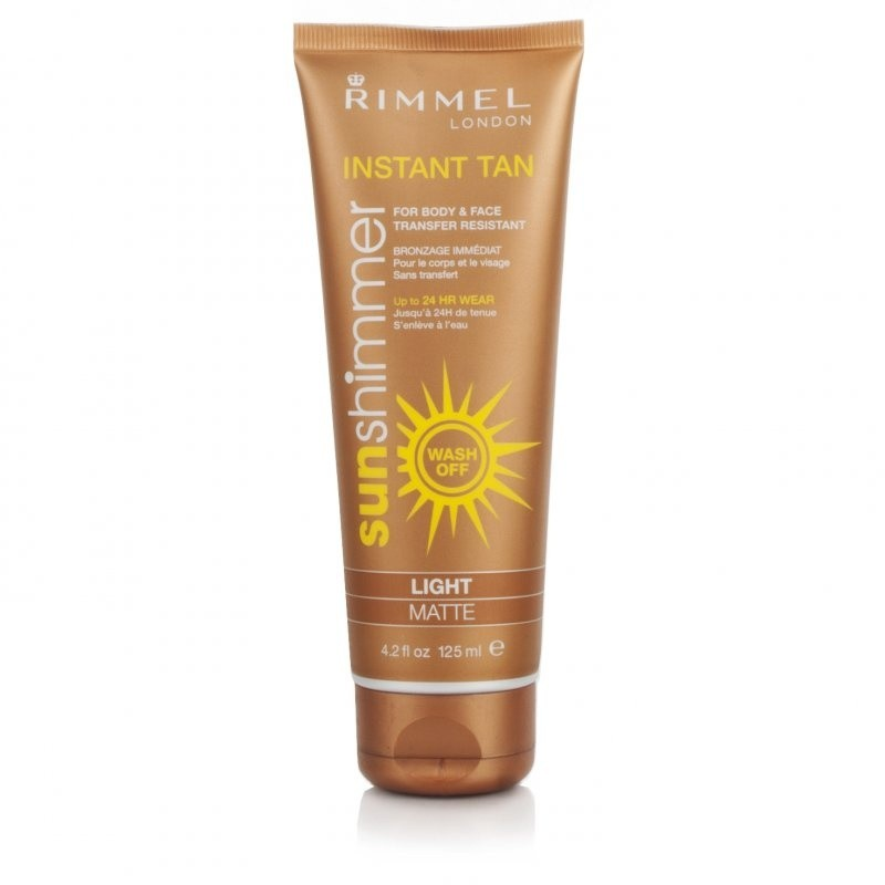 Rimmel Sunshimmer Instant Tan Make-up Light Matte