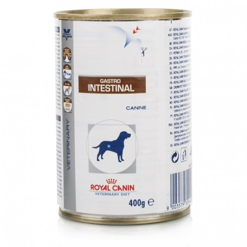 royal canin canine gastro intestinal 12 x 400g dog food. Black Bedroom Furniture Sets. Home Design Ideas