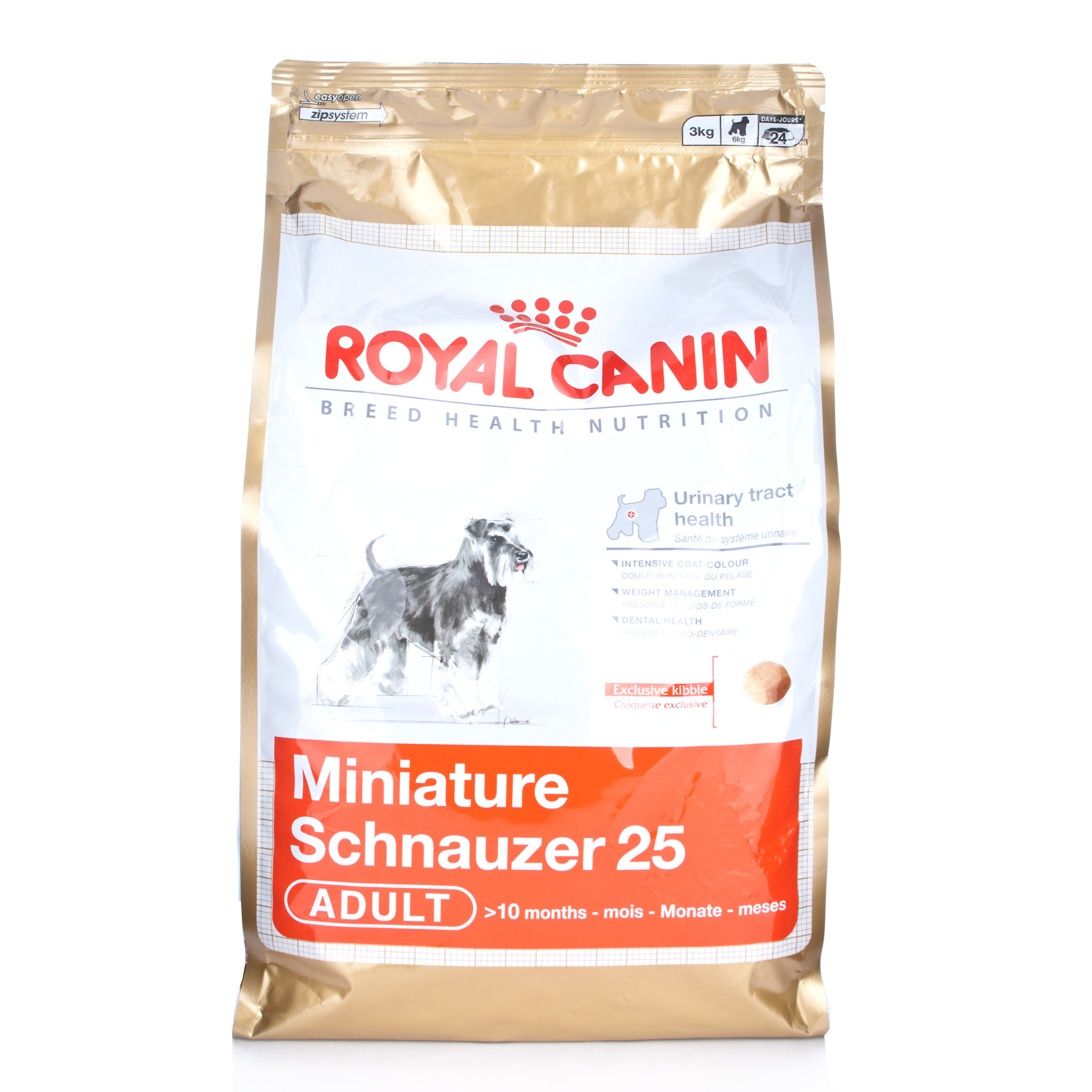 royal canin breed health nutrition miniature schnauzer adult ebay. Black Bedroom Furniture Sets. Home Design Ideas