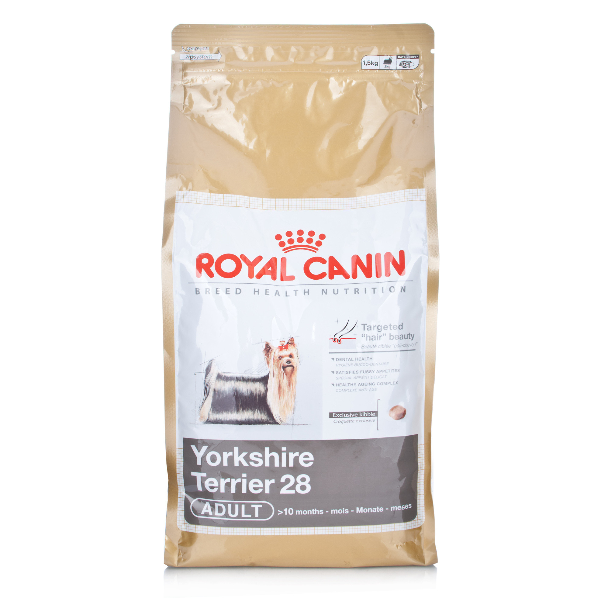 Click to view product details and reviews for Royal Canin Breed Health Nutrition Yorkshire Terrier Adult 28.