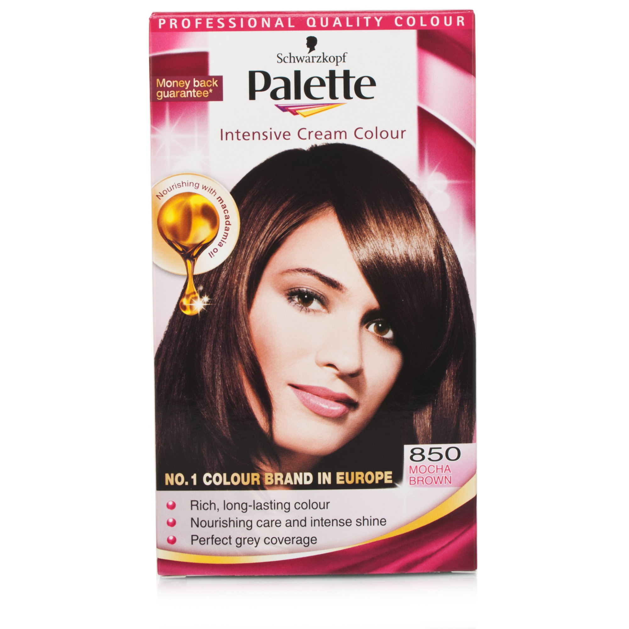 Schwarzkopf Palette Intense Cream Color 850 Mocha Brown  Chemist Direct