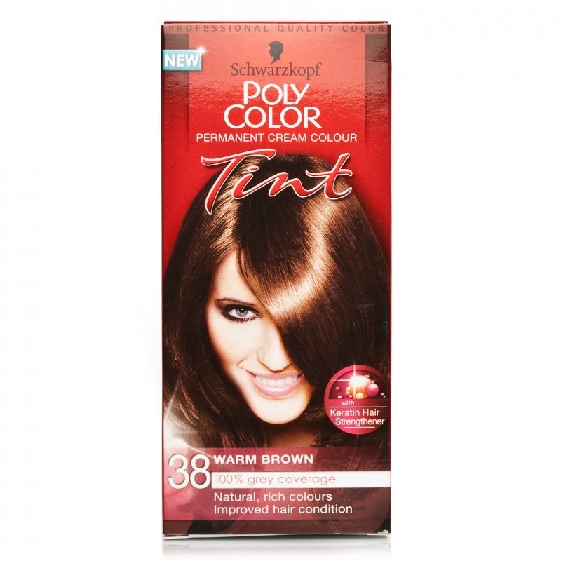 Schwarzkopf Poly Color Tint 38 Medium Warm Brown
