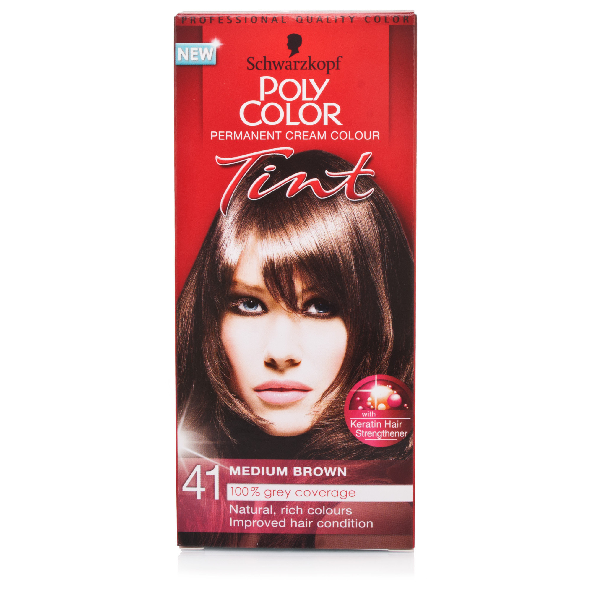 Schwarzkopf Poly Color Tint 41 Natural Medium Brown