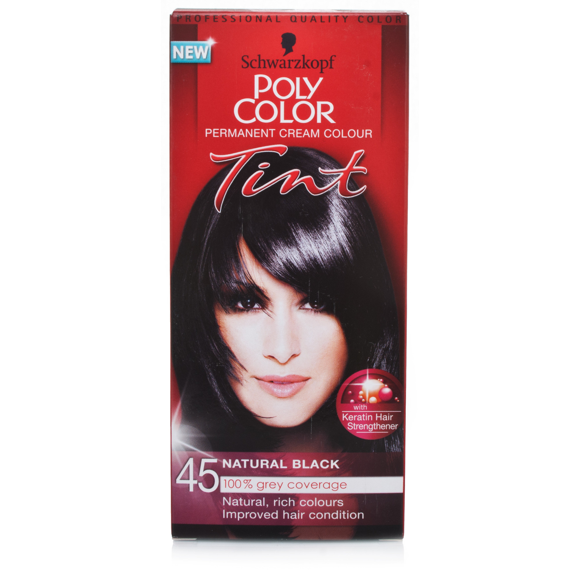 Schwarzkopf Poly Color Tint 45 Natural Black