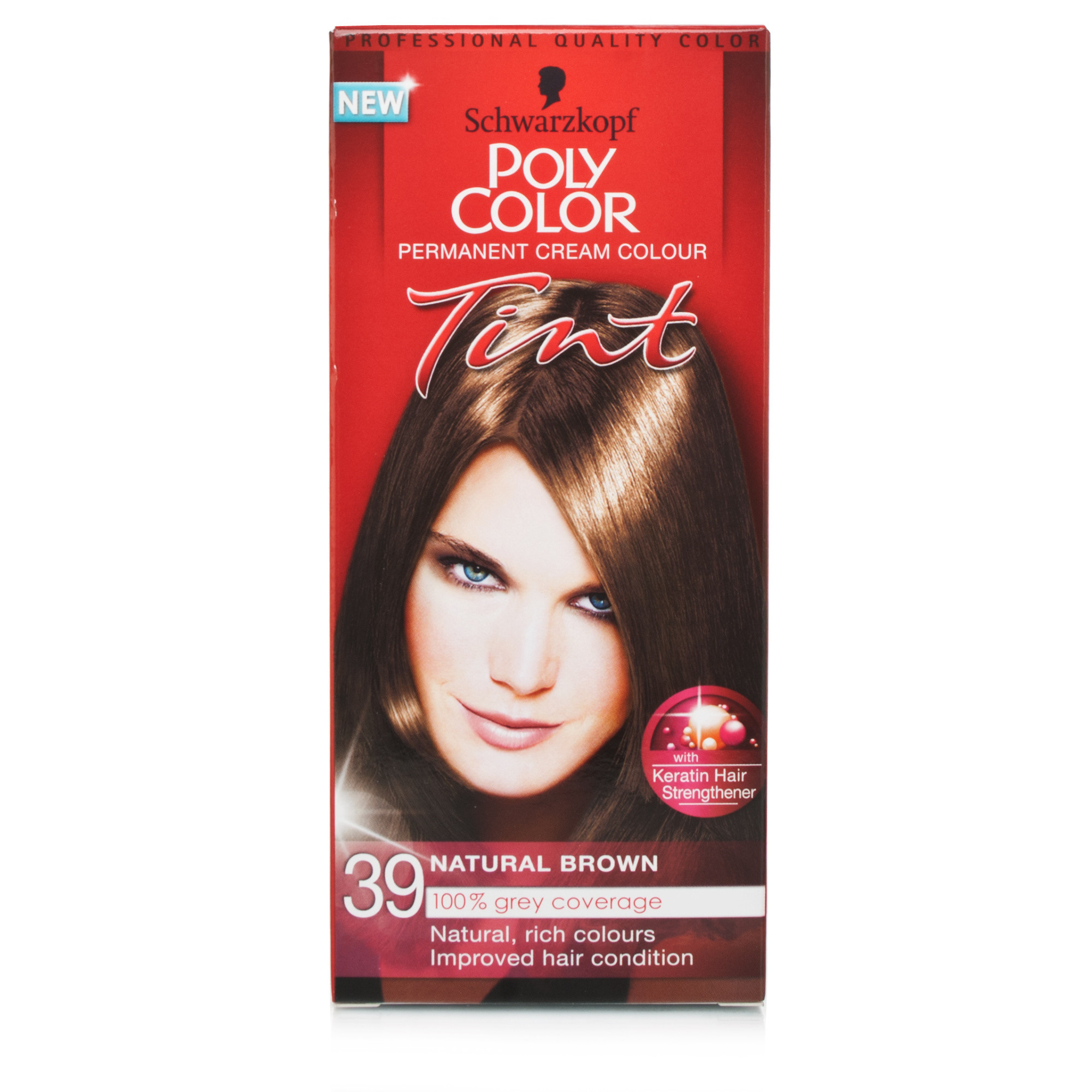 Schwarzkopf Poly Color Tint 39 Natural Brown