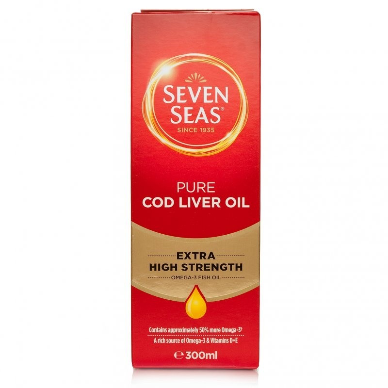 Seven Seas Extra High Strength Pure Cod Liver Oil