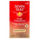 Seven Seas Cod Liver Oil Maximum Strength Capsules