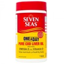 Seven Seas One A Day Pure Cod Liver Oil Capsules